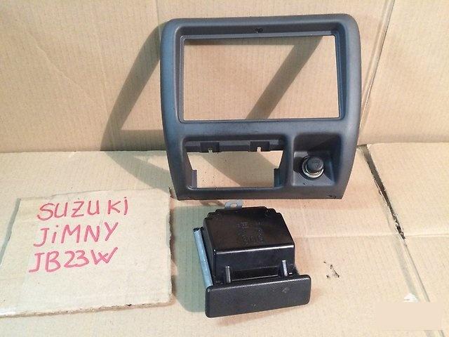 Консоль магнитофона SUZUKI JIMNY 2002г.; JB23W K6A 73821-81A00-ZS9 контрактная