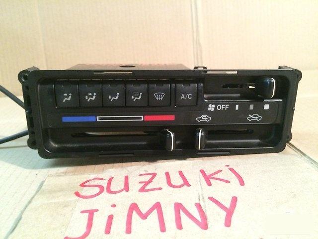 Блок управления климат-контролем SUZUKI JIMNY 2002г.; JB23W K6A 74400-81A40 контрактная