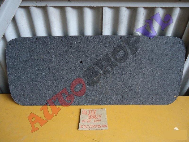 Обшивка крышки багажника DAIHATSU HIJET CARGO S321V KFVE 64780-B5020-B0 контрактная