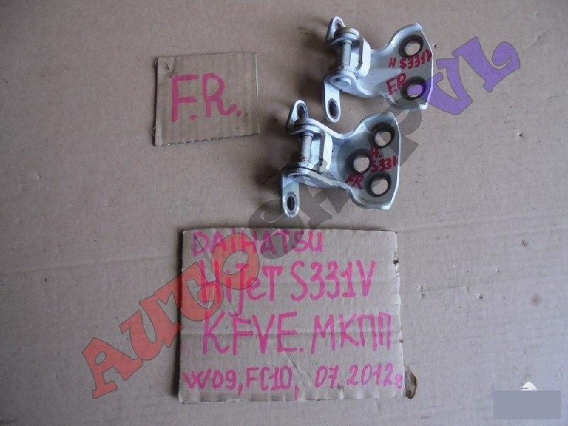Петля дверная передняя правая DAIHATSU HIJET CARGO 07.2012г. S331V KFVE контрактная