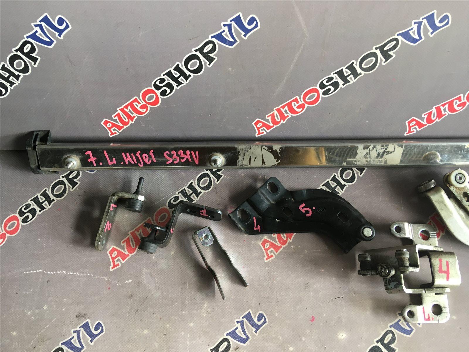 Полозья для сдвижной двери задняя левая HIJET CARGO S321V KFVE