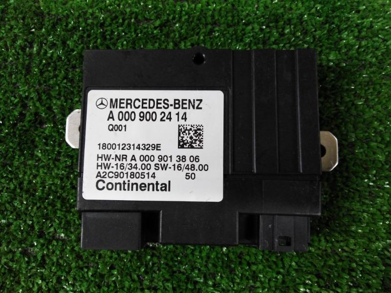 Блок управления топливным насосом Mercedes-Benz S-Class W222 A0009002414 контрактная