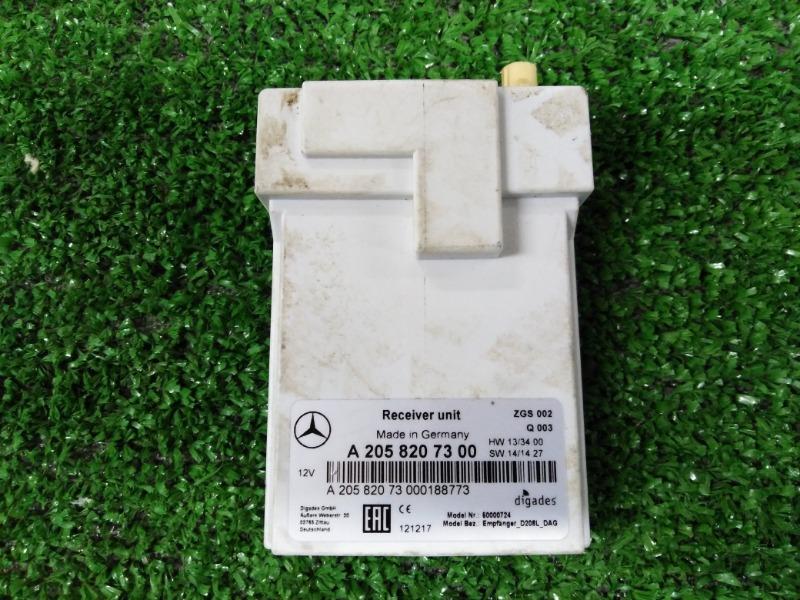 Приемник ДУ доп.отопления Mercedes-Benz S-Class W222 A2058207300 контрактная