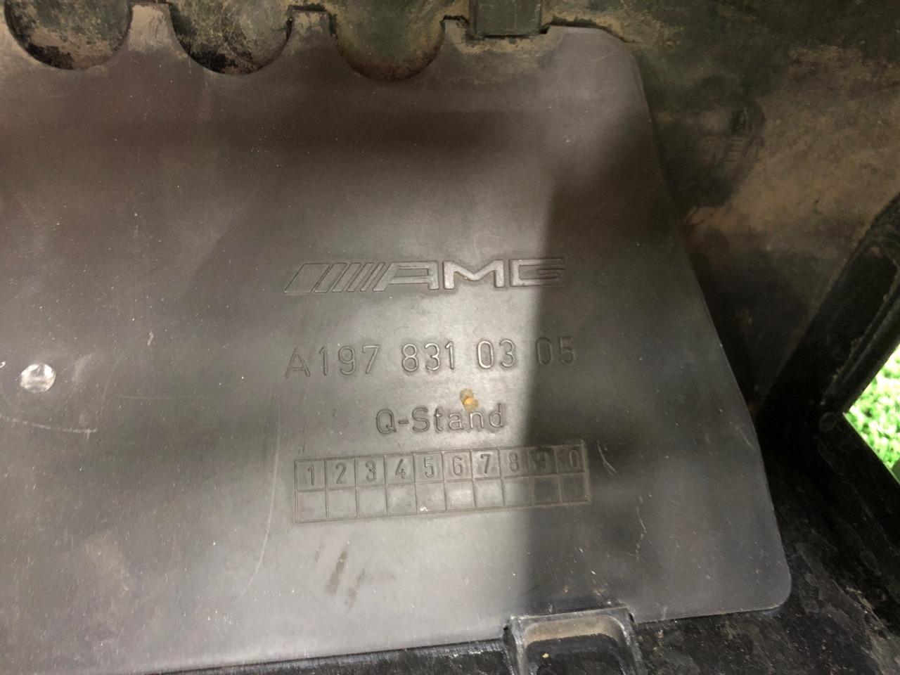 Впускной короб AMG GT C190