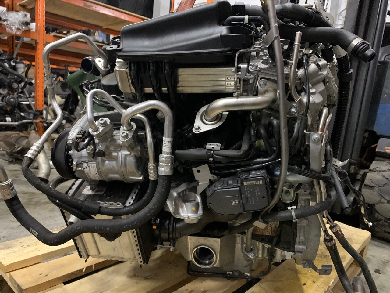 Двигатель GLC-Class 2018 X253 OM651