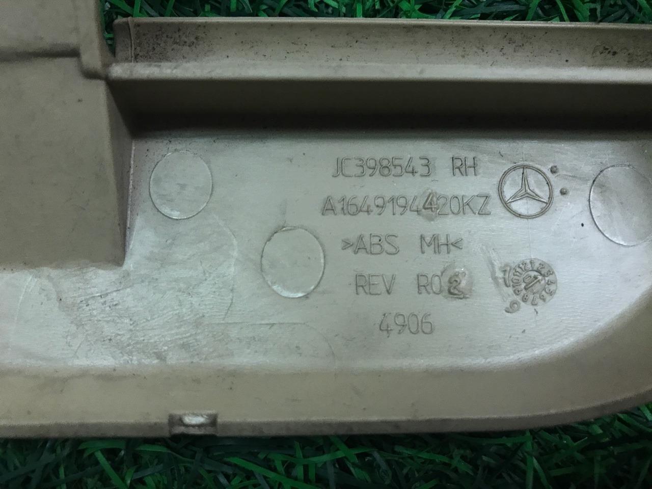 Накладка сиденья передняя правая Mercedes-Benz M-Class W164