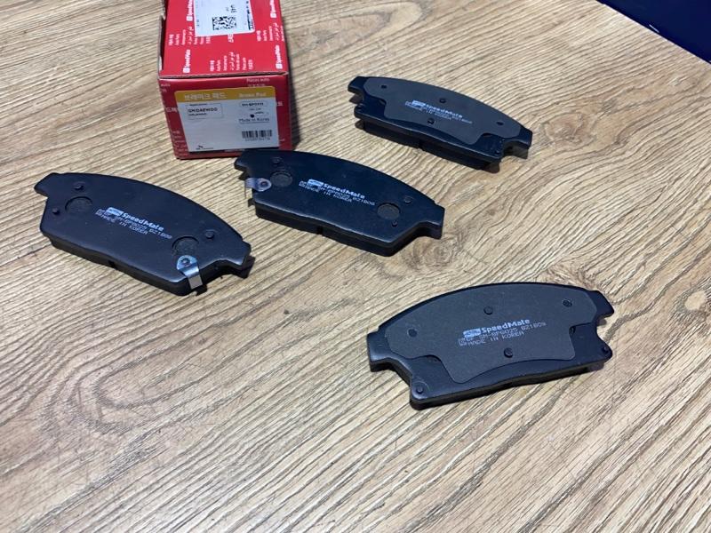 Тормозные колодки дисковые переднее Chevrolet Orlando