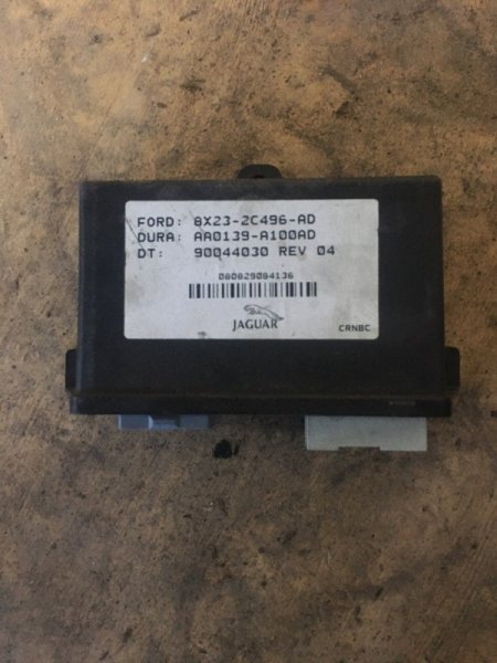 Блок управления стояночным тормозом Jaguar XF 2007-2011 CC9 8X232C496AD Б/У