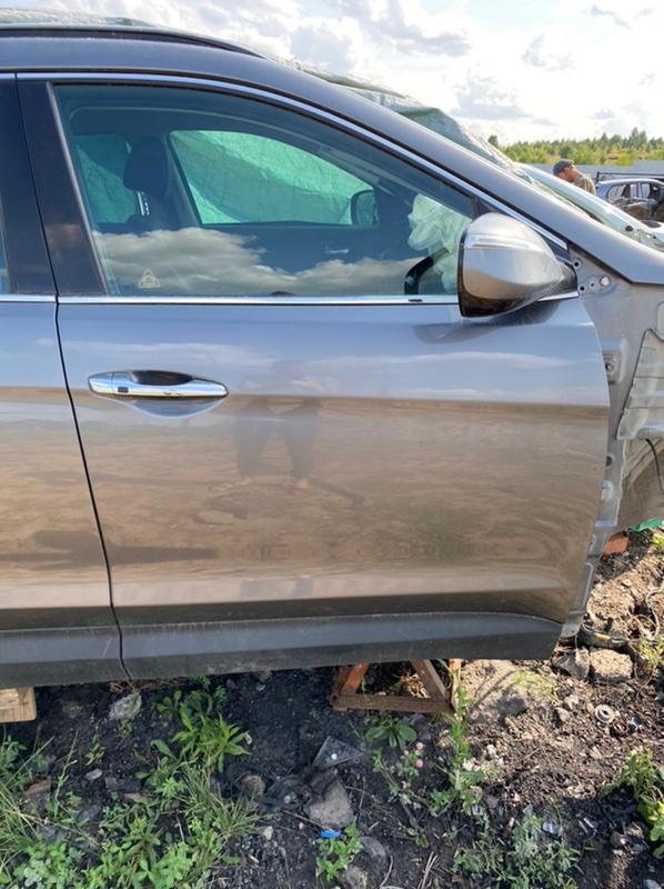 Дверь передняя правая Hyundai Santa Fe 2013-2018 DM G4KE 760042W010 Б/У