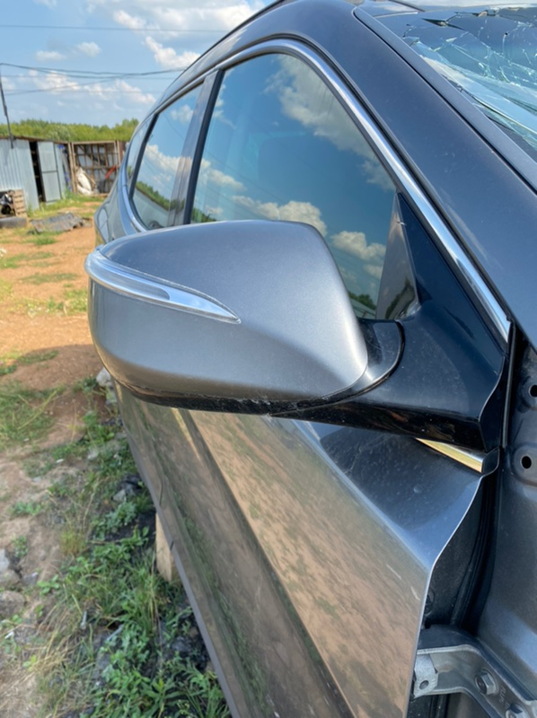 Зеркало заднего вида боковое правое Hyundai Santa Fe 2013-2018 DM G4KE 876202W010 Б/У