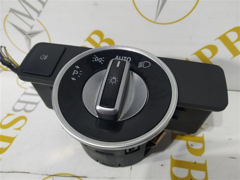 Переключатель света E-class 2012 W212 OM651
