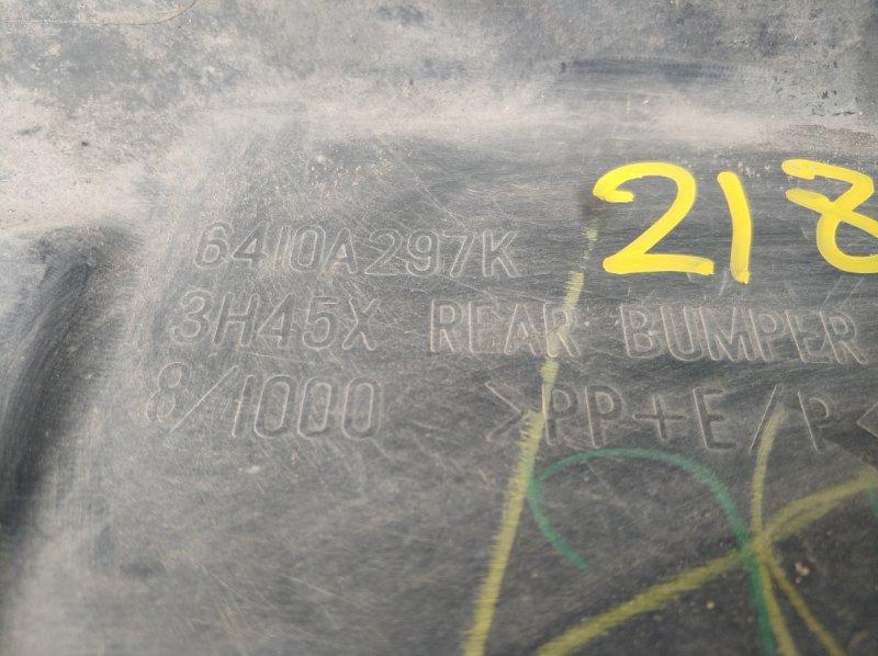 БАМПЕР ЗАДНИЙ задний OUTLANDER XL 2006 2007 2008 2009 2010 2011 2012 CW1W 4B11