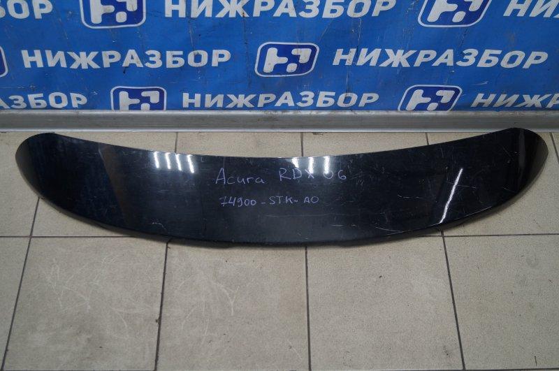 Спойлер багажника Acura RDX 2006-2012 TB1 74900STKA0 Б/У