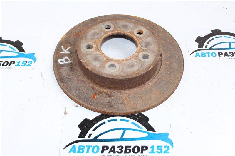 Тормозной диск задний левый MAZDA 3 2003-2008 BK LF C24Y26251B контрактная