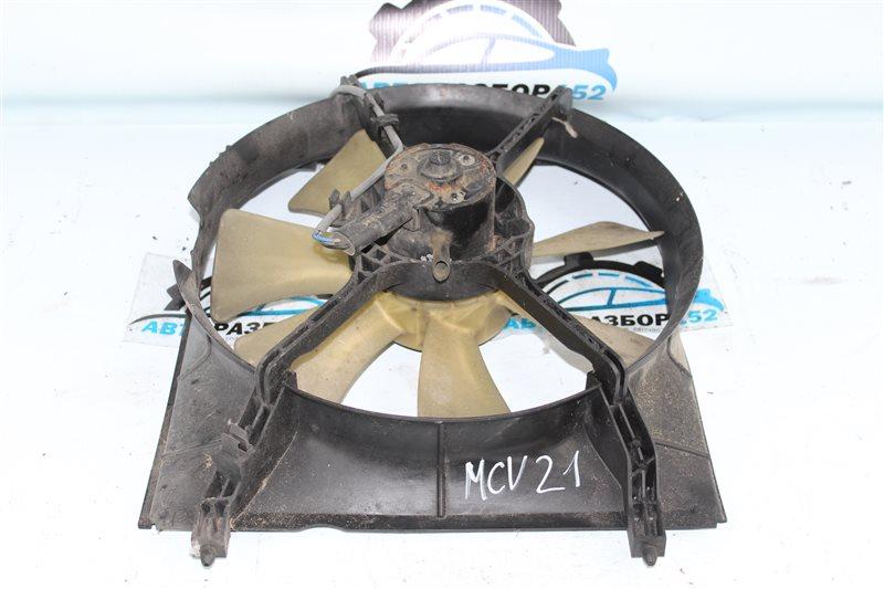 Вентилятор радиатора левый TOYOTA WINDOM 1996-2001 MCV21 2MZFE 1671120050 контрактная