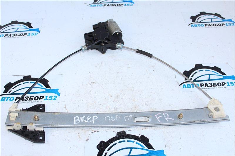 Стеклоподъемник передний правый MAZDA 3 2003-2008 BK LF BP4K58590 контрактная