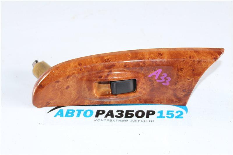 Кнопка стеклоподъекника задняя левая Nissan Cefiro 1998-2003 a33 VQ20DE 254112Y900 контрактная