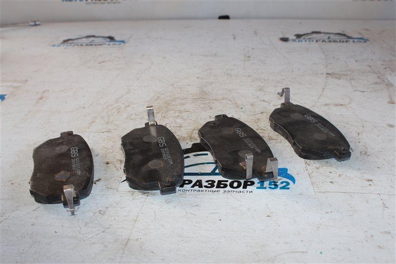 Колодки тормозные Toyota SCP90 2SZ-FE
