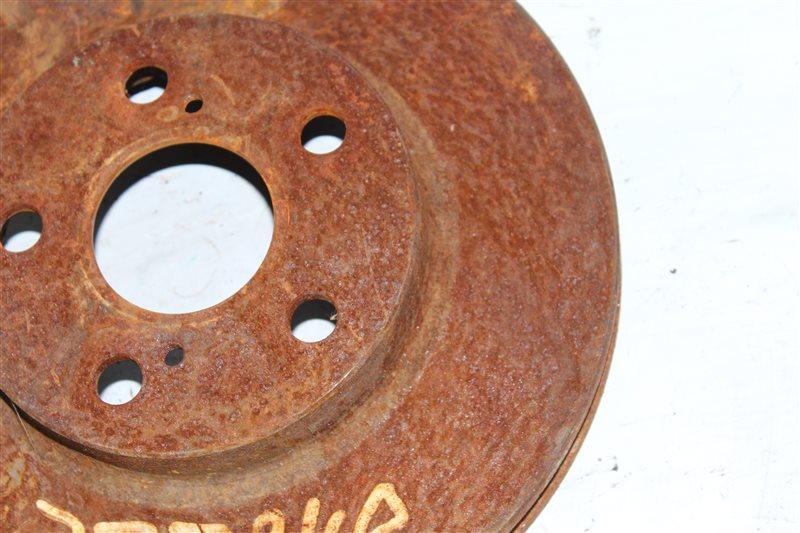 Тормозной диск передний правый Allion 2001-2007 ZZT240 1ZZFE