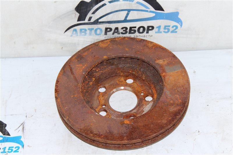 Тормозной диск передний правый TOYOTA Allion ZZT240 1ZZFE