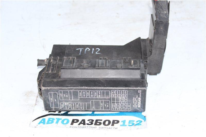 Блок предохранителей Nissan Primera 2002-2007 TP12 QR20DE 24380AU000 контрактная