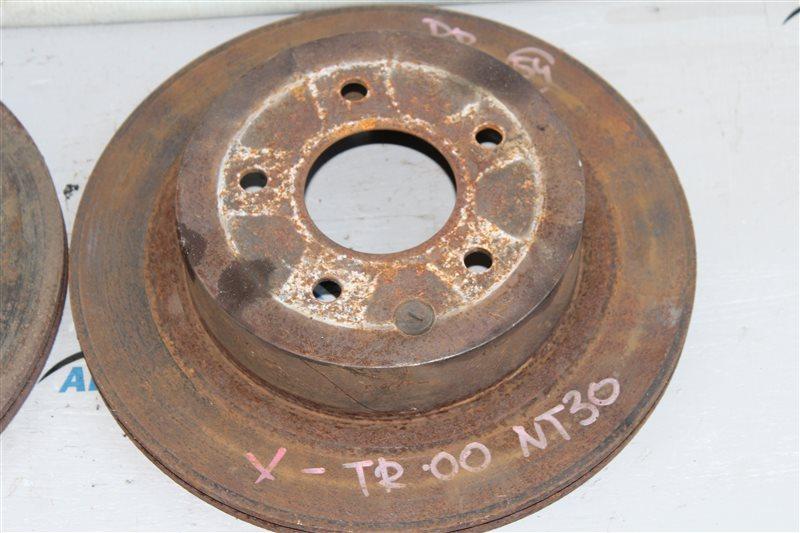 Диск тормозной задний X-Trail 2002-2007 NT30 QR20DE