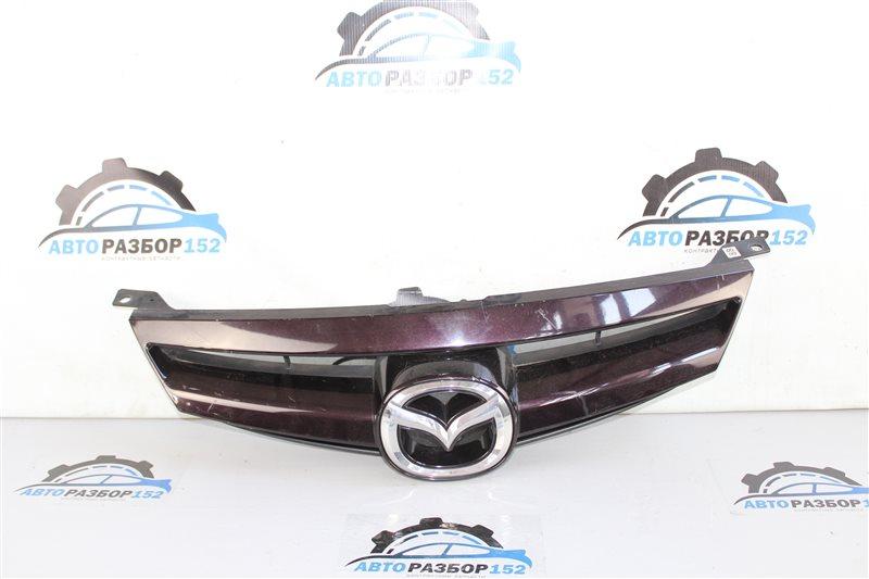 Решетка радиатора Mazda 6 2002-2007 GG L3-VE контрактная