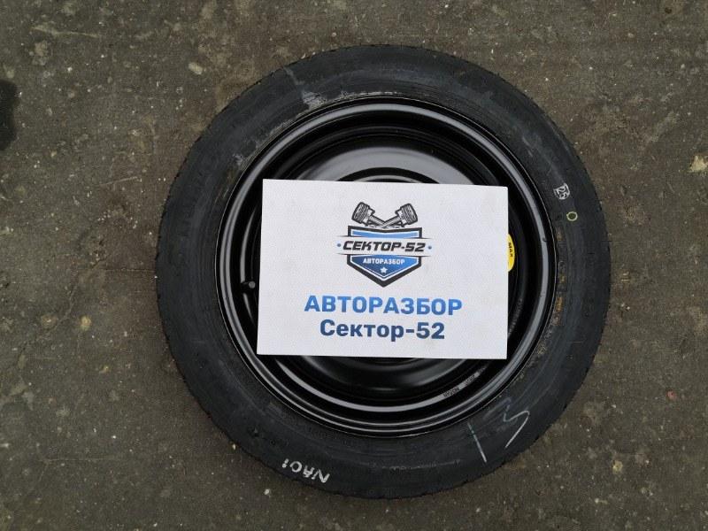 Колесо запасное (докатка) Nissan Almera 2004 N16 QG15DE 4030028E00 Б/У