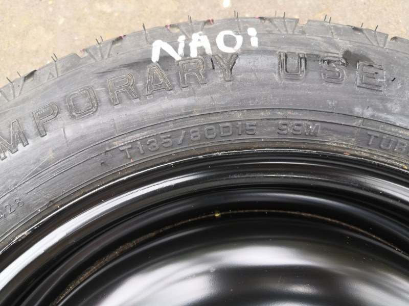 Колесо запасное (докатка) Almera 2004 N16 QG15DE