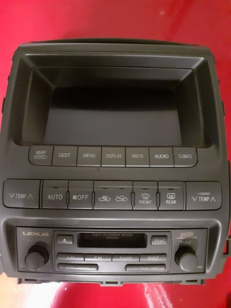 Магнитола штатная Lexus GX 1 GX450 8612060441 Б/У