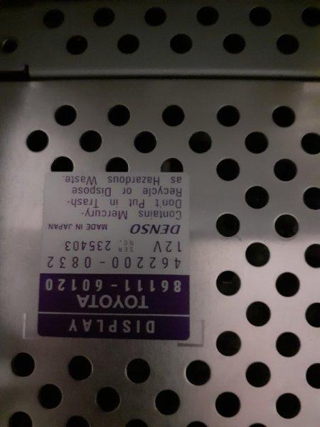 Магнитола штатная Lexus GX 1 GX450
