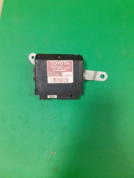 Блок управления зеркалами Lexus LX450d 3URFE 8943060070 Б/У