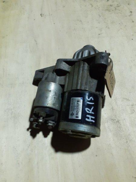Стартер CUBE E11E HR15-DE
