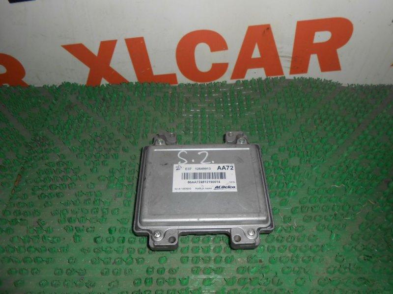 Блок управления ДВС Opel Antara L07 12649913 контрактная
