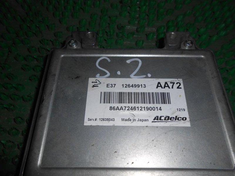 Блок управления ДВС Opel Antara L07