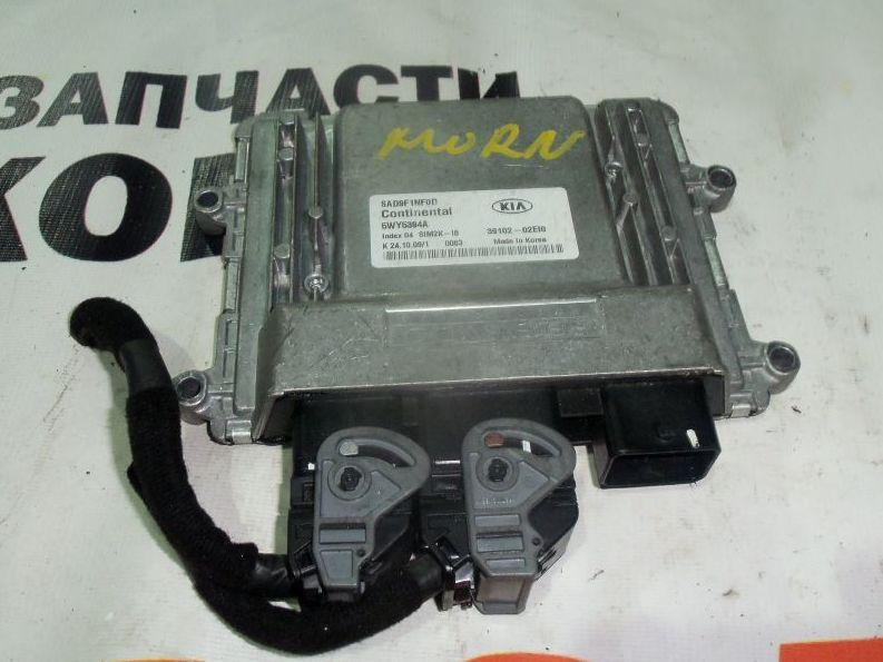 Блок управления ДВС Kia Picanto BA 39110-02EI0 контрактная