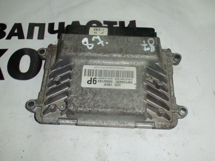 Блок управления ДВС Daewoo Matiz KLYA 96802183 контрактная
