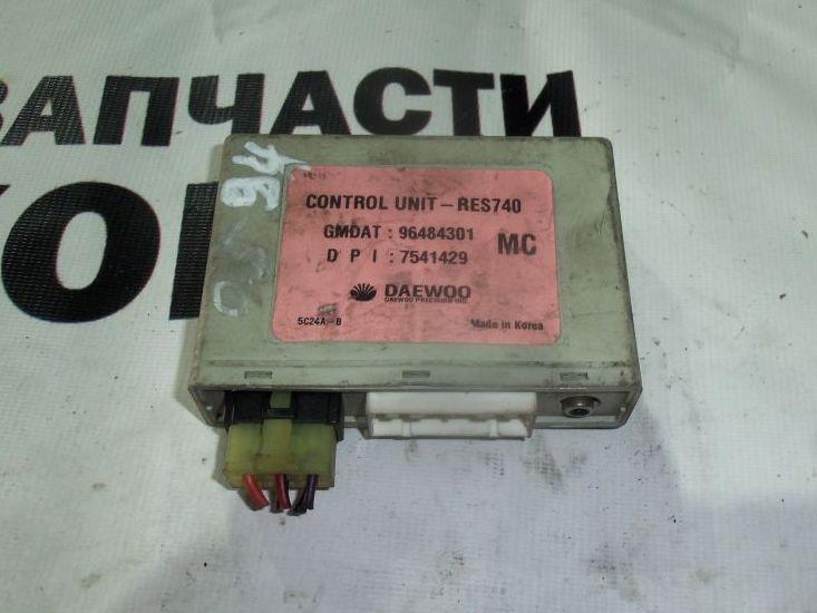 Блок управления ДВС Daewoo Matiz KLYA 96484301 контрактная