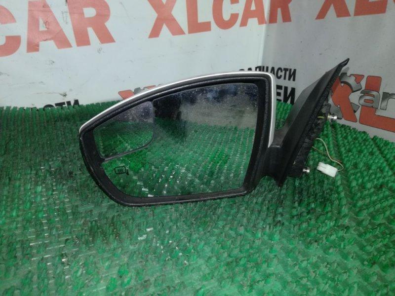 Зеркало заднего вида боковое переднее левое Ford Focus BK контрактная