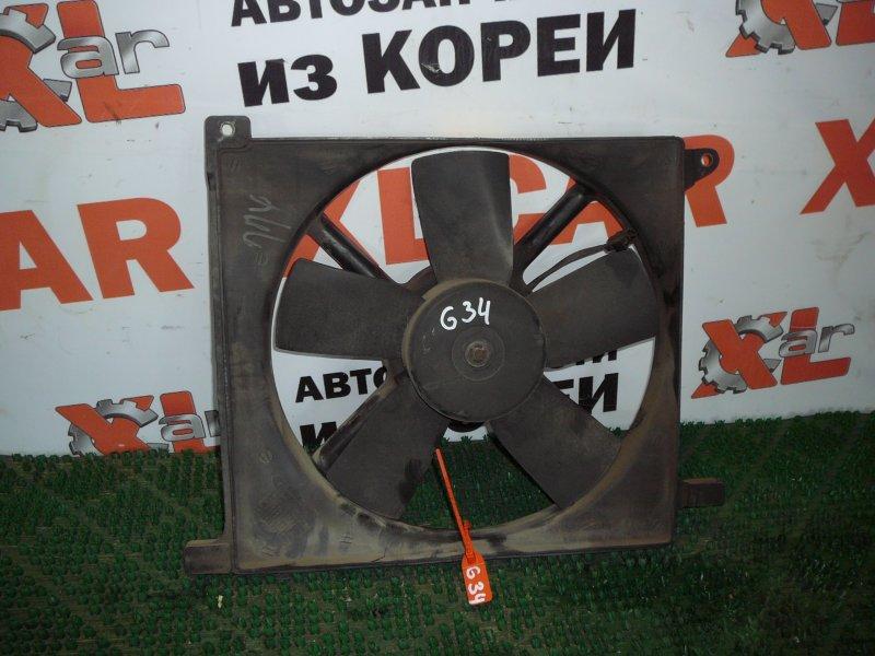 Вентилятор охлаждения радиатора Daewoo Espero KLEJ 96143373 контрактная