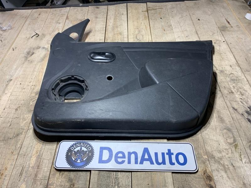 Обшивка двери передняя правая Renault Logan 2013 LS0G/LS12 K7J Б/У