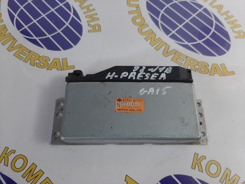Блок управления abs Nissan Pressea 1997 R11 GA15 47850 40Y00 контрактная