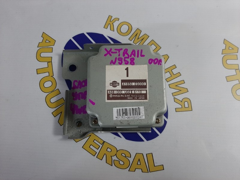 Блок управления 4 WD Nissan X-Trail 2006 NT30 QR20DE A68-000 U02 контрактная