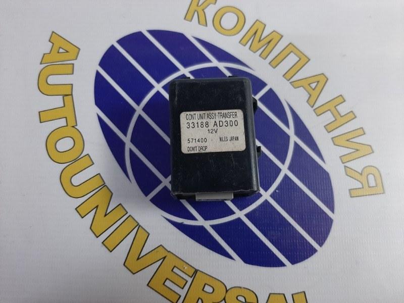 Блок управления 4 WD Nissan Pressage 2000 HU30 KA24 33188 AD300 контрактная