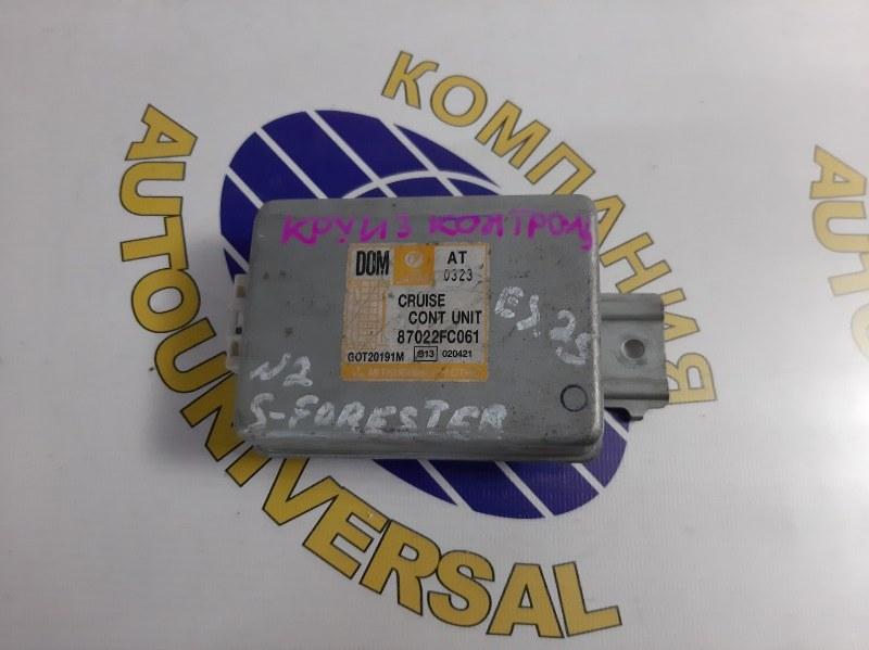 Блок управления Subaru Forester 2000 SF9 EJ25A 87022FCO61 контрактная