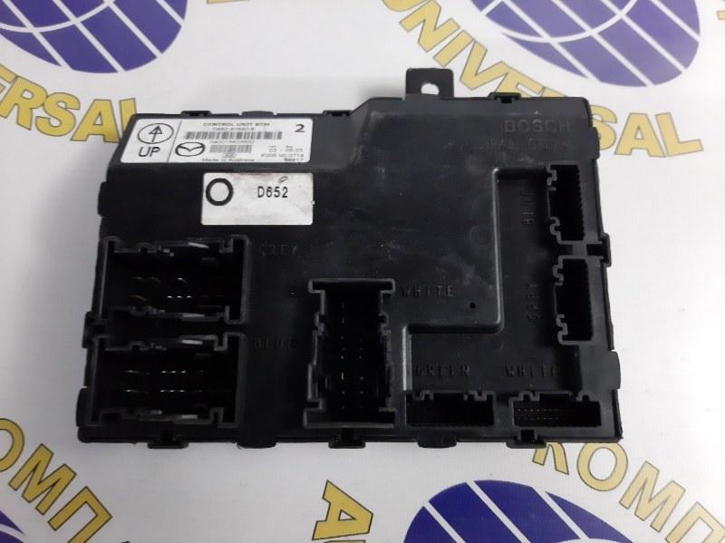 Блок управления Mazda Demio 2008 DE3FS ZJVE D652-67560-E контрактная