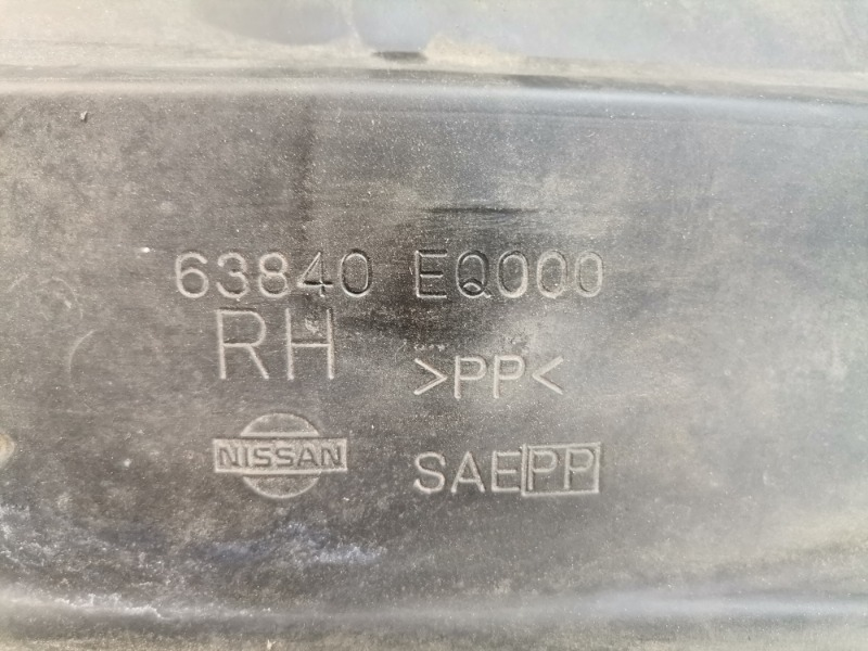 Подкрылок передний правый X-Trail 2000 NT30 QR20DE