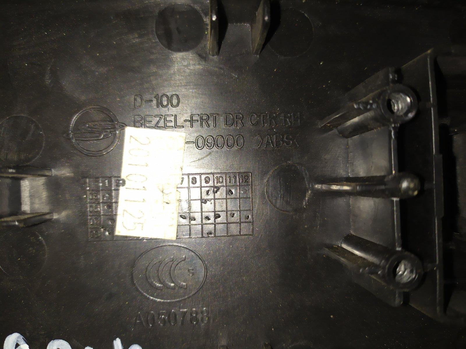Рамка кнопок стеклоподъемника передняя правая Ssangyong Kyron