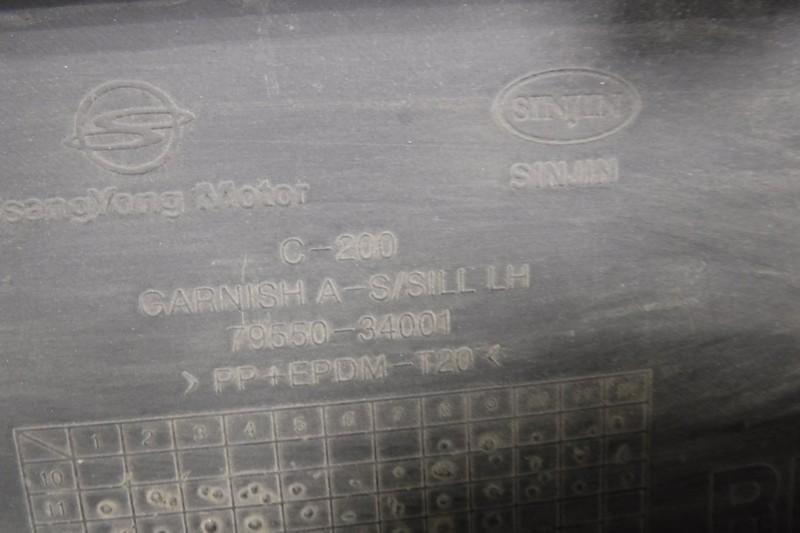 Накладка на порог (наружная) Actyon