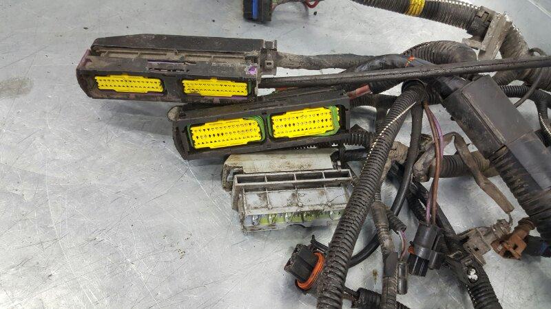 Проводка моторного отсека Renault Symbol LU01 K4M